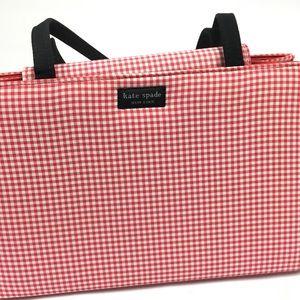 Kate Spade Checkered Handbag